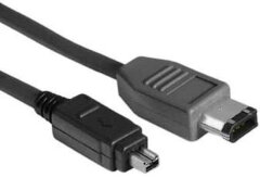 Hama Firewire Kabel 4-pin/6-pin plug 2m