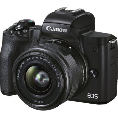 Canon EOS M50 Mark II Zwart + 15-45mm IS STM