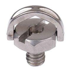Caruba 1/4 inch Bout met D-ring