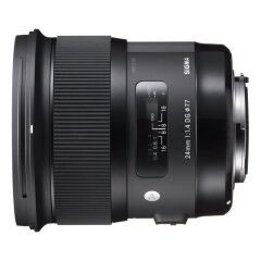 Sigma 24mm f/1.4 DG HSM Art  Sony E