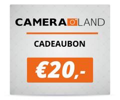 Cadeaubon t.w.v. €20,-