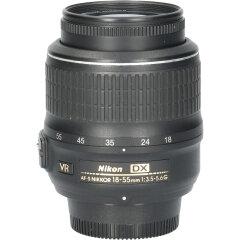 Tweedehands Nikon 18-55mm f/3.5-5.6 AF-S G DX VR CM2967