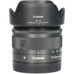 Tweedehands Canon EF-M 15-45mm f/3.5-6.3 IS STM - Zwart CM5300