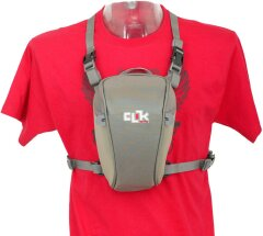 Clik Elite CE702GR SLR Chest Carrier grey