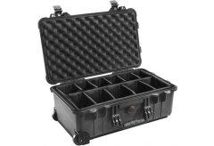 Peli 1564 Black Divider Studio Case