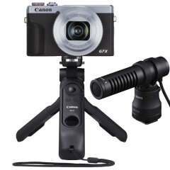 Canon PowerShot G7X Mark III Zilver Vlog Kit