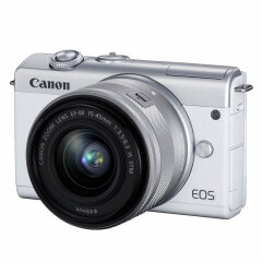 Canon EOS M200 Wit + 15-45mm IS STM