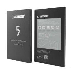 GGS V Larmor 5th Gen Glass Protector en Sunshade Hood voor Fuji XT1/XT2/XA3/ Panasonic GH4/GX8