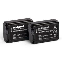 Hahnel HL-XW50 Li-Ion accu Twin Pack (Sony NP-FW50 accu)