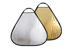 405 Photogear Opvouwbaar reflectiescherm goud/zilver 80 cm met handgreep
