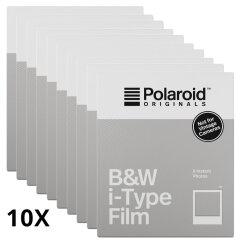 Polaroid Originals B&W instant film for I-type 10-pack