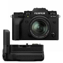 Fujifilm X-T4 Zwart + XF 18-55mm + VG-XT4 Powergrip