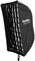 Phottix Easy-Up Softbox met Grid 60x90 + Parapluhouder