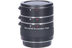 Tweedehands Soligor set tussenringen 3-delig voor Canon AF/EFS Sn.:CM4331