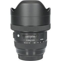 Tweedehands Sigma 12-24mm f/4.0 DG HSM Art Canon CM4065