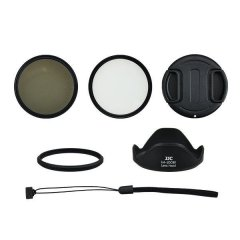 Kiwi Filter Adapter Tube Kit voor Canon SX60 HS