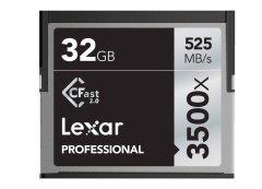 Lexar CFAST Pro 32GB 3500x speed CF kaart