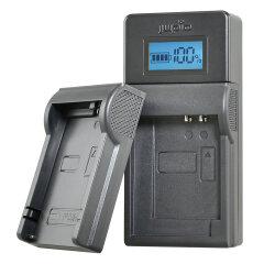 Jupio USB Charger Kit voor JVC/Samsung/Sony 3.6V-4.2V accu's