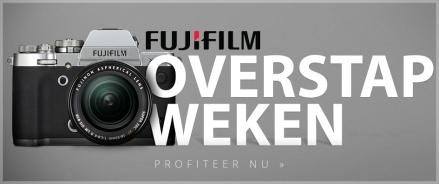 Fujifilm Overstapweken