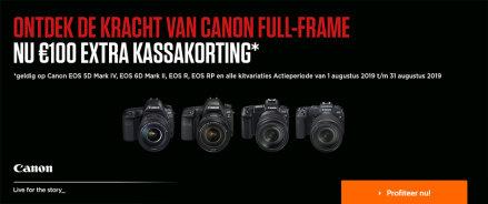 Canon full frame kassakorting