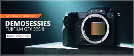 Fujifilm GFX 50S II Demo