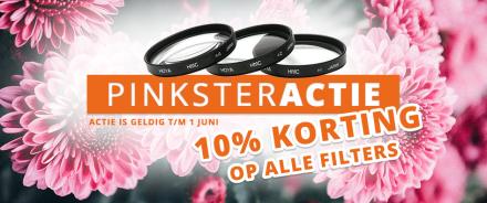 10% korting op filters