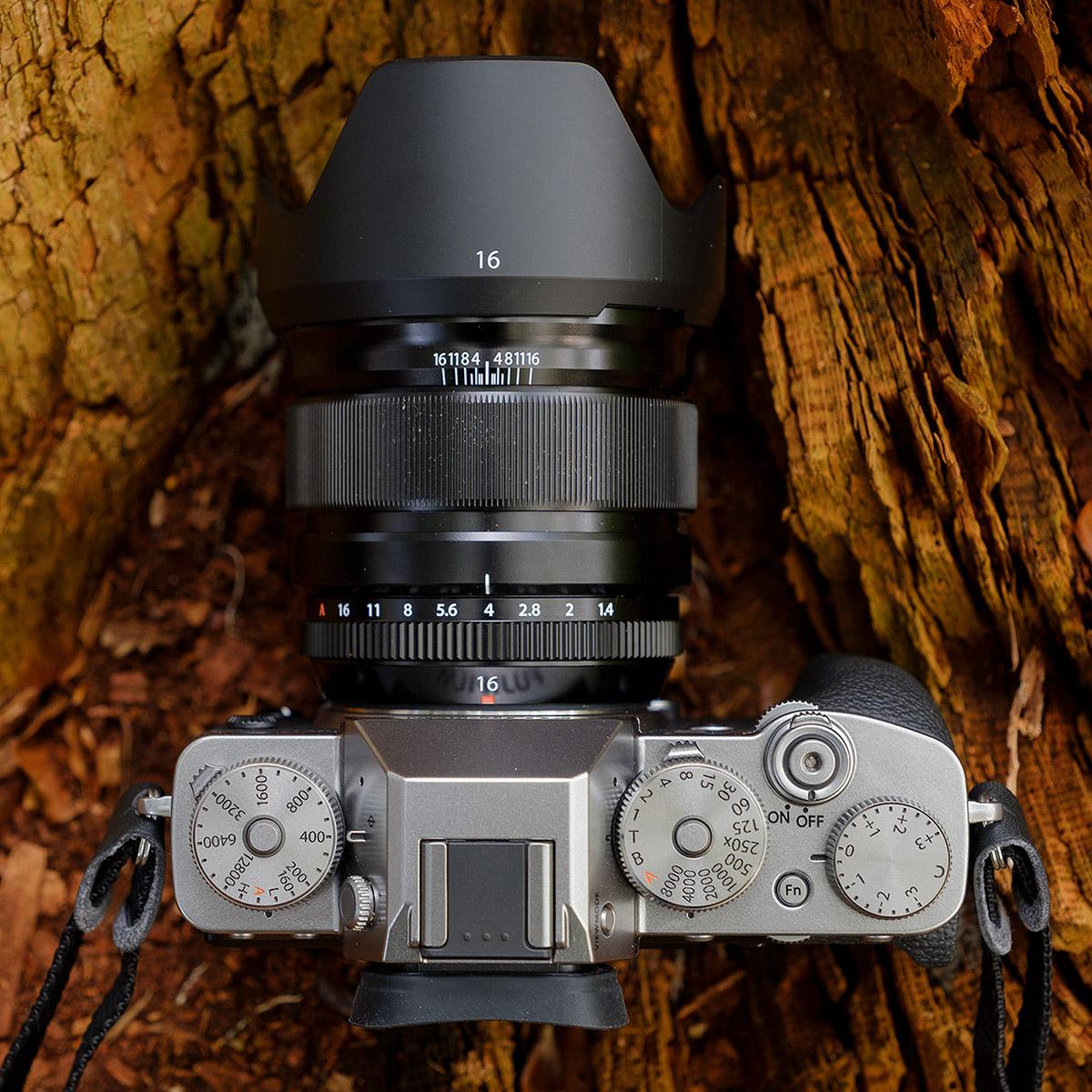 Fujifilm X-T3 met het XF 16mm f/1.4 R WR objectief