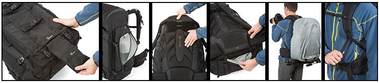 LowePro Pro Trekker 450 AW black