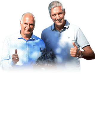 Ed & Peter - Co-Founders